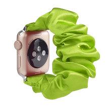 Растягивающийся эластичный ремешок для часов Apple Watch 38 мм/40 мм 42 мм/44 мм Повседневный женский ремешок для iwatch(Китай)