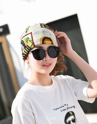 Headbands for women Floral Printed Chemo Cap Fashion Hair Accessories Ladies Sleep Cap
