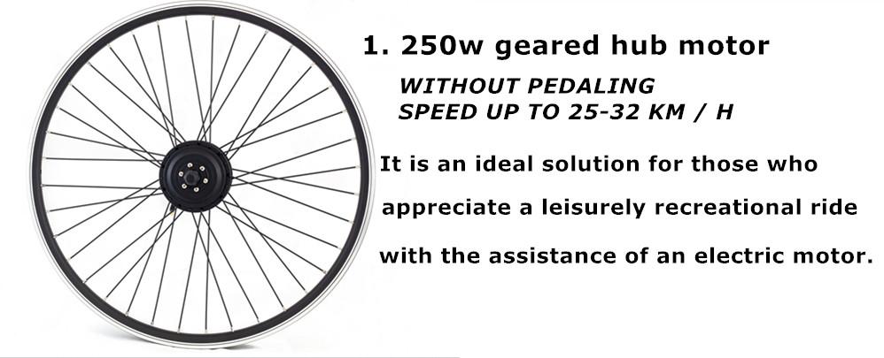 250w electric bike kits