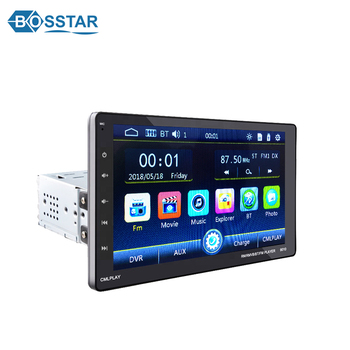 10 Inch radio 1 din universal Touch Screen Car MP5 Player with BT/USB/SD car audio system