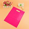 hot pink plastic bag packaging