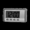 gray English talking clock
