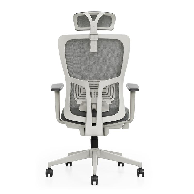 Huashi high-back swivel ergonomic fabric chair armrest office mesh computer chair