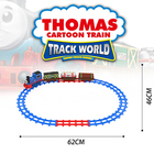 Classical Toy Electric Toy Train Sets Train Track Toys Train Plastic Box Window Picture Style Packing Cypress PCS Color Material