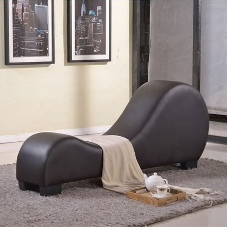 hot selling new modern design Italy leather yoga chairstretch chaise stretch sofa relax yoga sex chair
