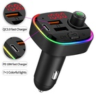Mp3 Player With Mp3 Car Mp3 LUTU BT Car Fm Transmitter Usb Mp3 Player With PD18W Fast Charger