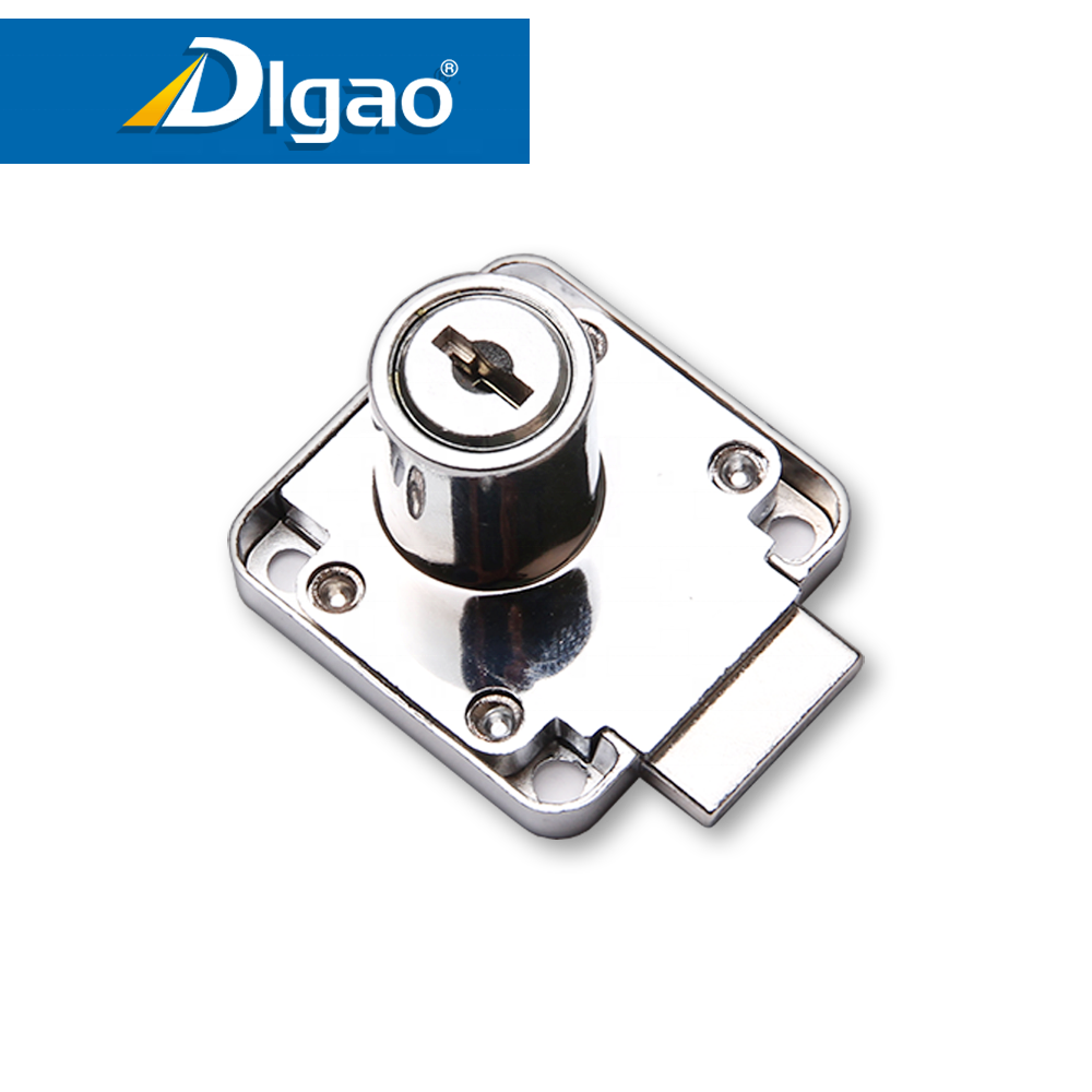 Evergood zinc door lock durable 138 plastic office furniture desk cabinet door drawer lock