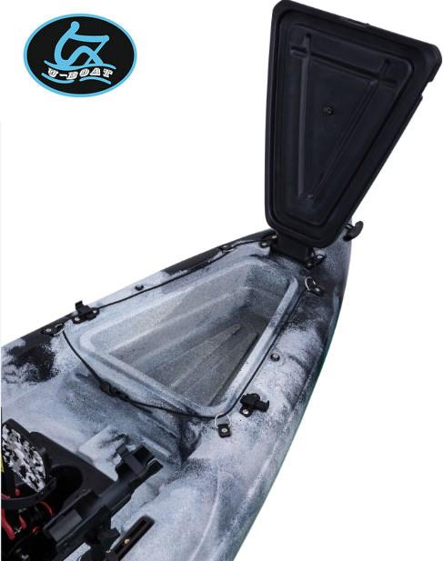 U-boat 2021 New Design plastic canoe foot pedal kayak canoe for sale