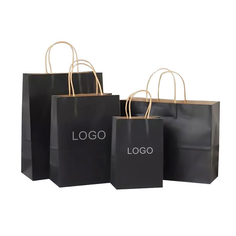 Индивидуальные Экологически чистые пакеты из крафт-бумаги, персональные пищевые пакеты для выпечки, шоппинга с ручками, упаковочный бумажный пакет для ресторана