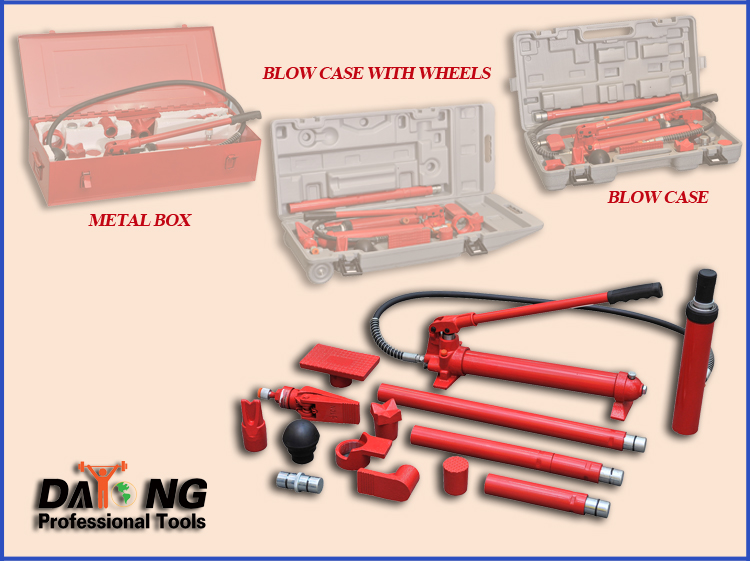 4 Ton Heavy Duty Portable Power Jack With Blow Case