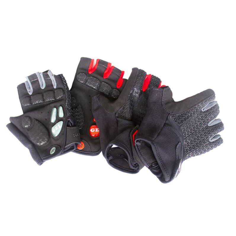 Latest Design Bicycle Mtb Gloves Cycling Mens Outdoor Riding Gloves Driven Gloves Half Finger Custom 1pc/opp Bag Windproof