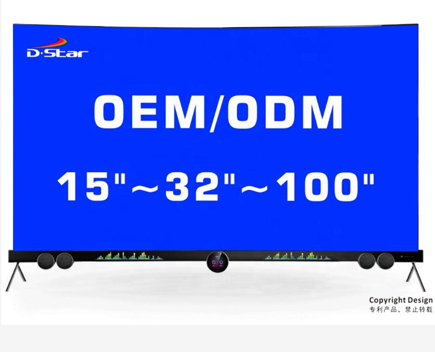 Производитель 32 дюйма 43 дюйма 55 дюймов 65 дюймов smart led tv 4k uhd