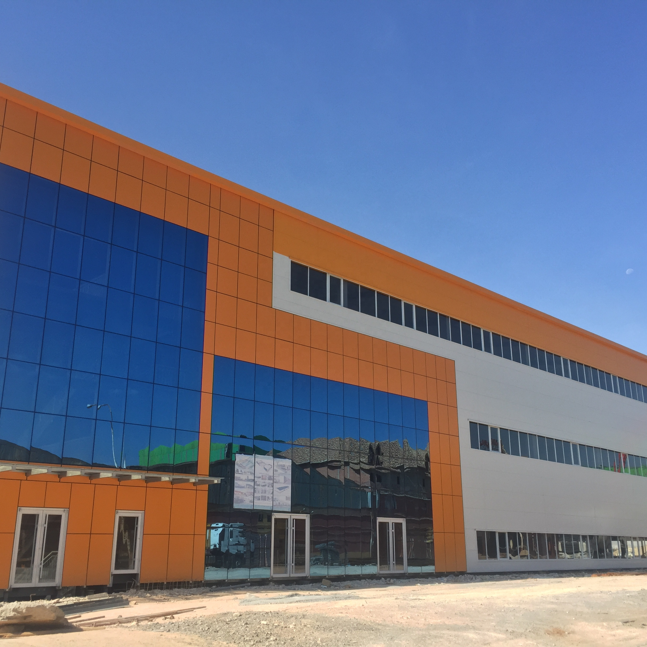 Low Cost Hot Dip Galvanized Light Steel Structure Frame Prefab Warehouse