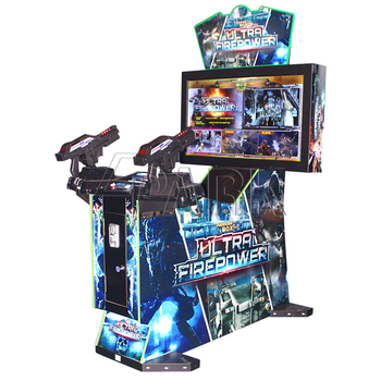"Indoor Sports Games 42"" inch attractive Ultra frie power adult shoot game Entertainment"