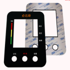 Die Customized Logo Plastic Waterproof Packaging Label PC Button Panel Die Cutting Silk Screen Sticker Electronic Products