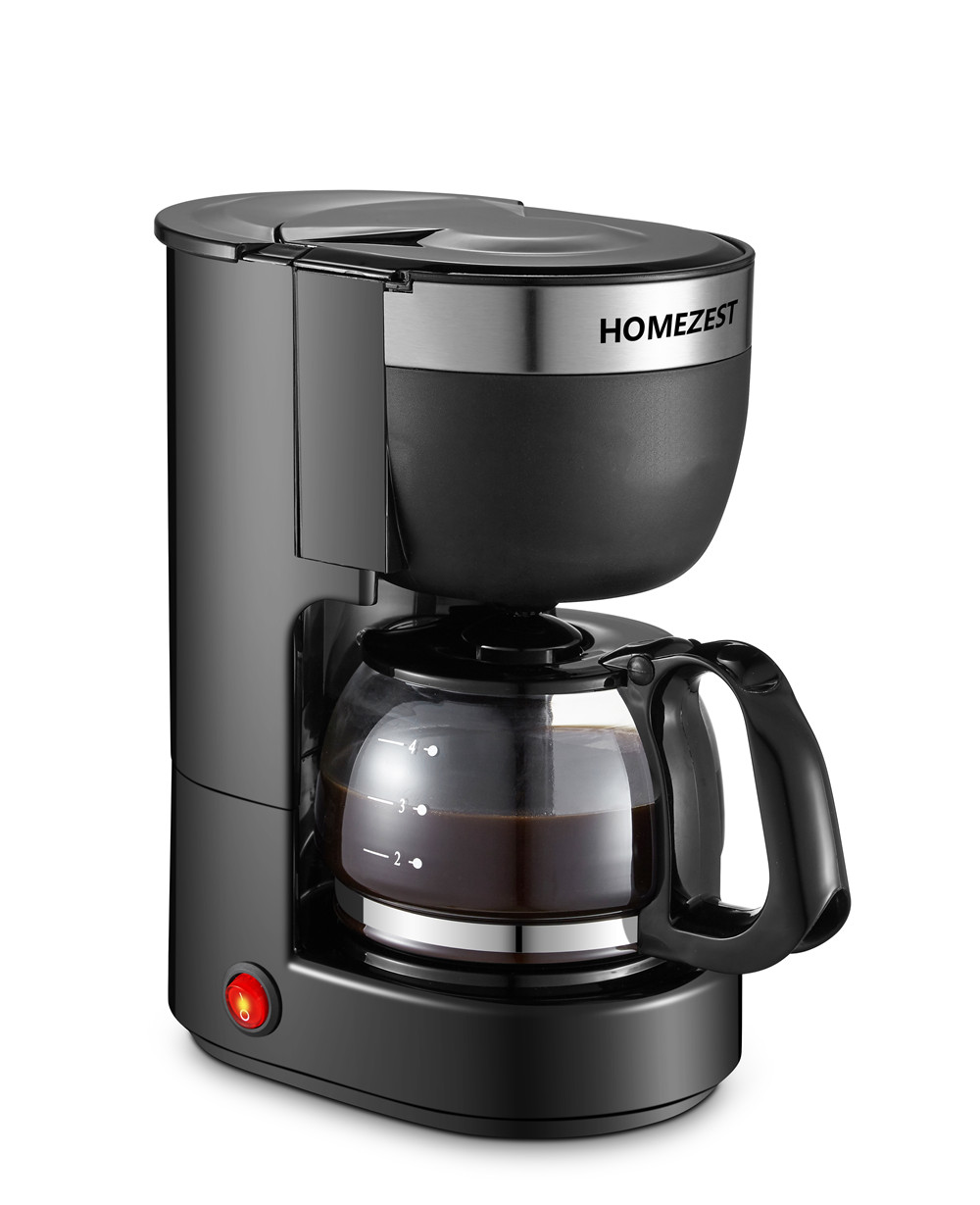 HOMEZEST  CM1002B HOT SELLING AUTOMATIC COFFEE MACHINE 0.65L HOUSE USE COFFEE MACHINE