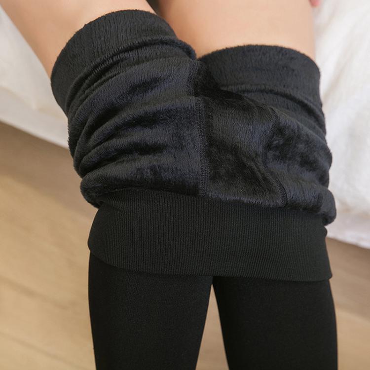 Wholesale high quality fleece lined leggings new style thick winter warm fleece leggings