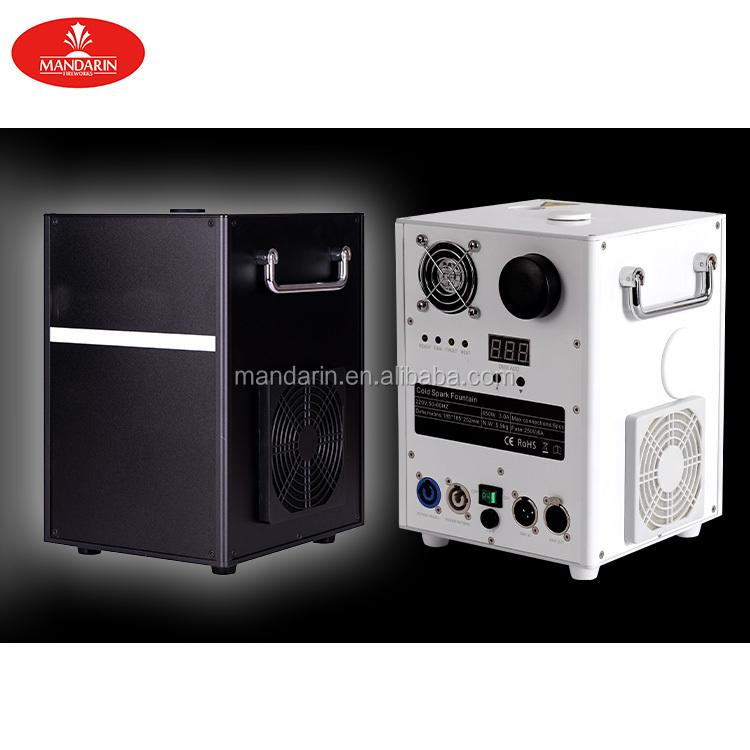 Стойка pyrotechnik партии набор позолоченных ювелирных изделий DMX холодной spark фонтан машина фейерверков 650w 750w
