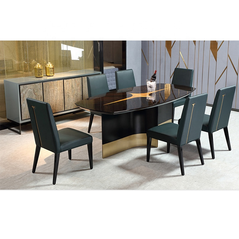 Italy Modern Furniture Design Luxury Modern 8 Chairs Glossy Woodend Dining Table With Fashion Leather Dining Chairs Buy Italy Modern Furniture Design Luxury Modern 8 Chairs Glossy Woodend Dining Table Fashion Leather Dining