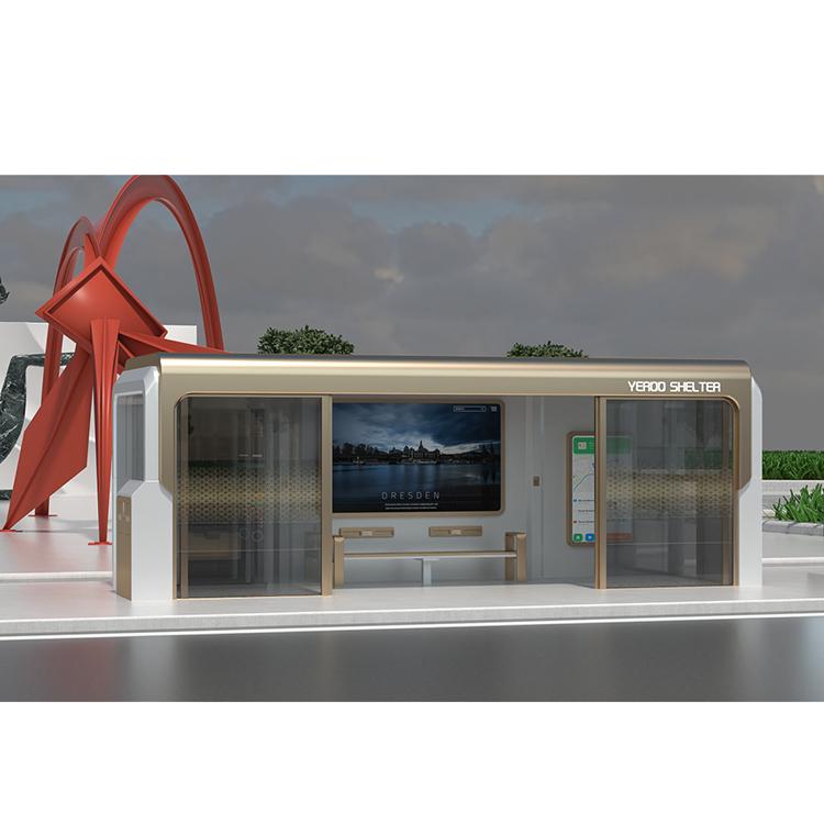 Горячая Распродажа, горячеоцинкованный листовой кондиционер для автобусов, современный рекламный поставщик автобусной станции