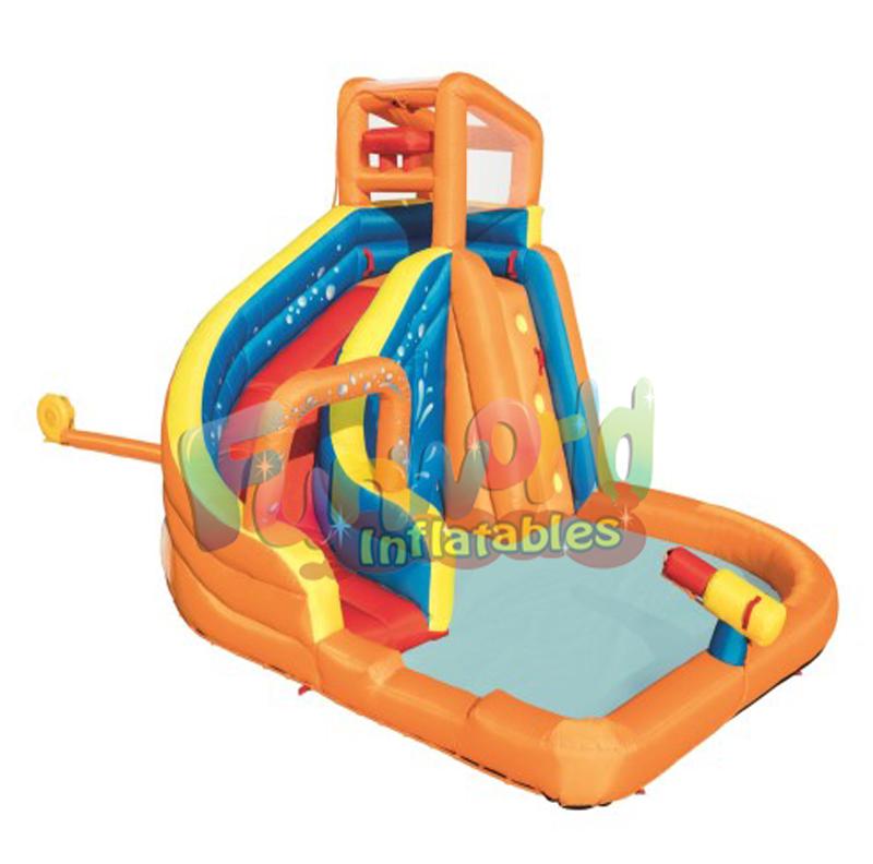 Gran diversion tobogan juegos acuaticos inflable parque acuatico inflable