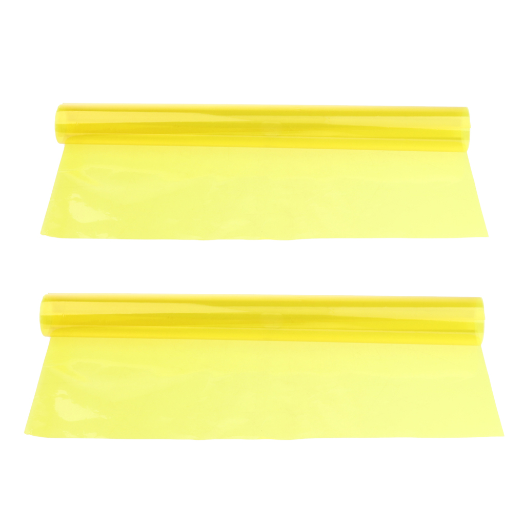 2x Color Correction Gel Filter Overlays Transparency Color Film Plastic Sheets Gel Lighting Filters Yellow Aliexpress