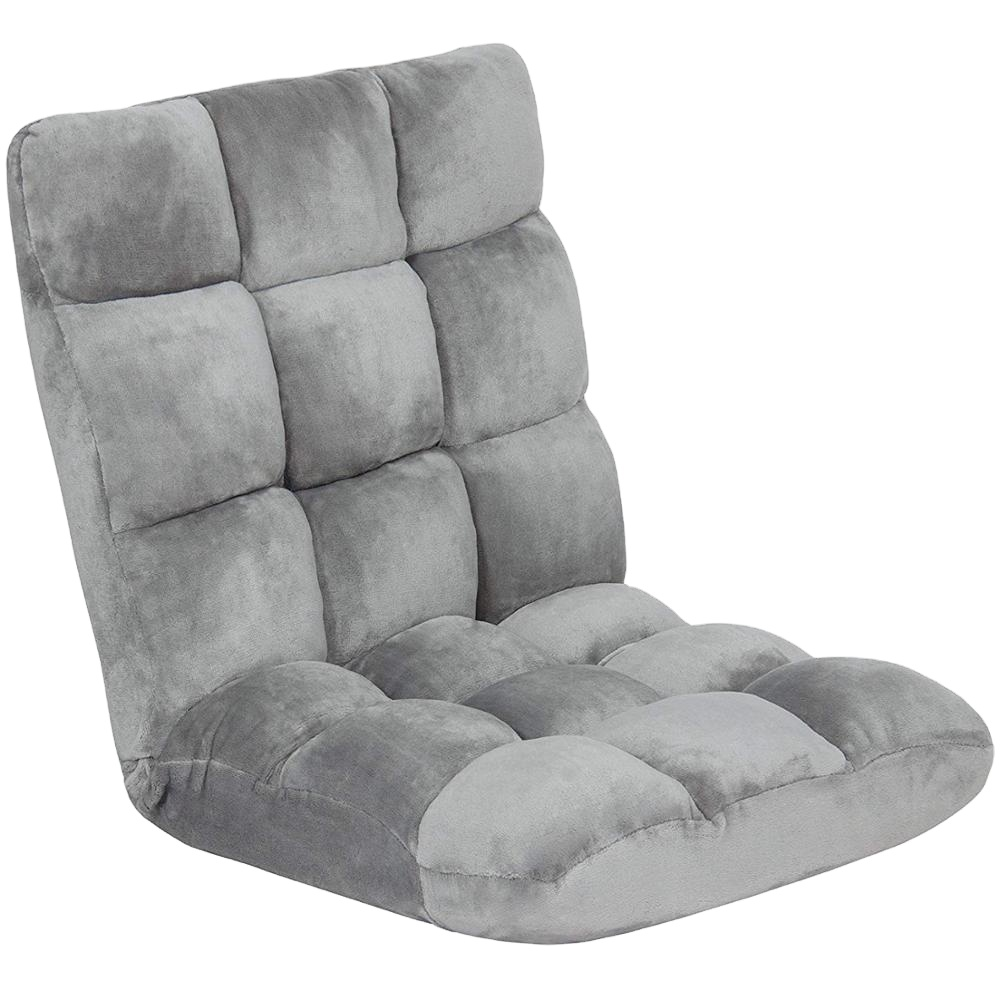 Регулируемый 5-позиционный складной пол стул подушки дивана пол сиденья со спинкой для Пижама для детей и взрослых, отлично подходит для игр для чтения