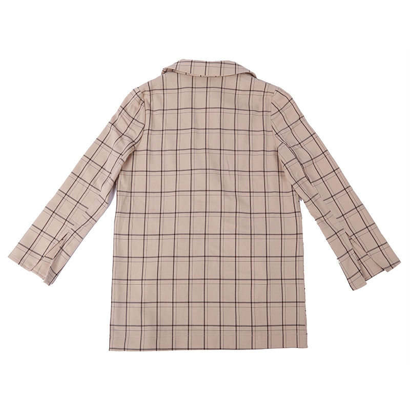 China Big Factory Good Price Plain plaid jackets Check boys jackets Trendy plaid suit