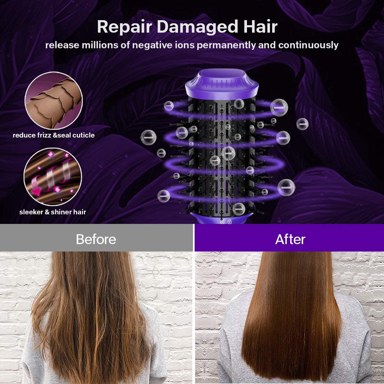 M Регулируемая температура Уход за волосами Электрический Стайлинг гребень PTC нагреватель керамический гребень для волос Ионная Щетка для волос щетка для лица
