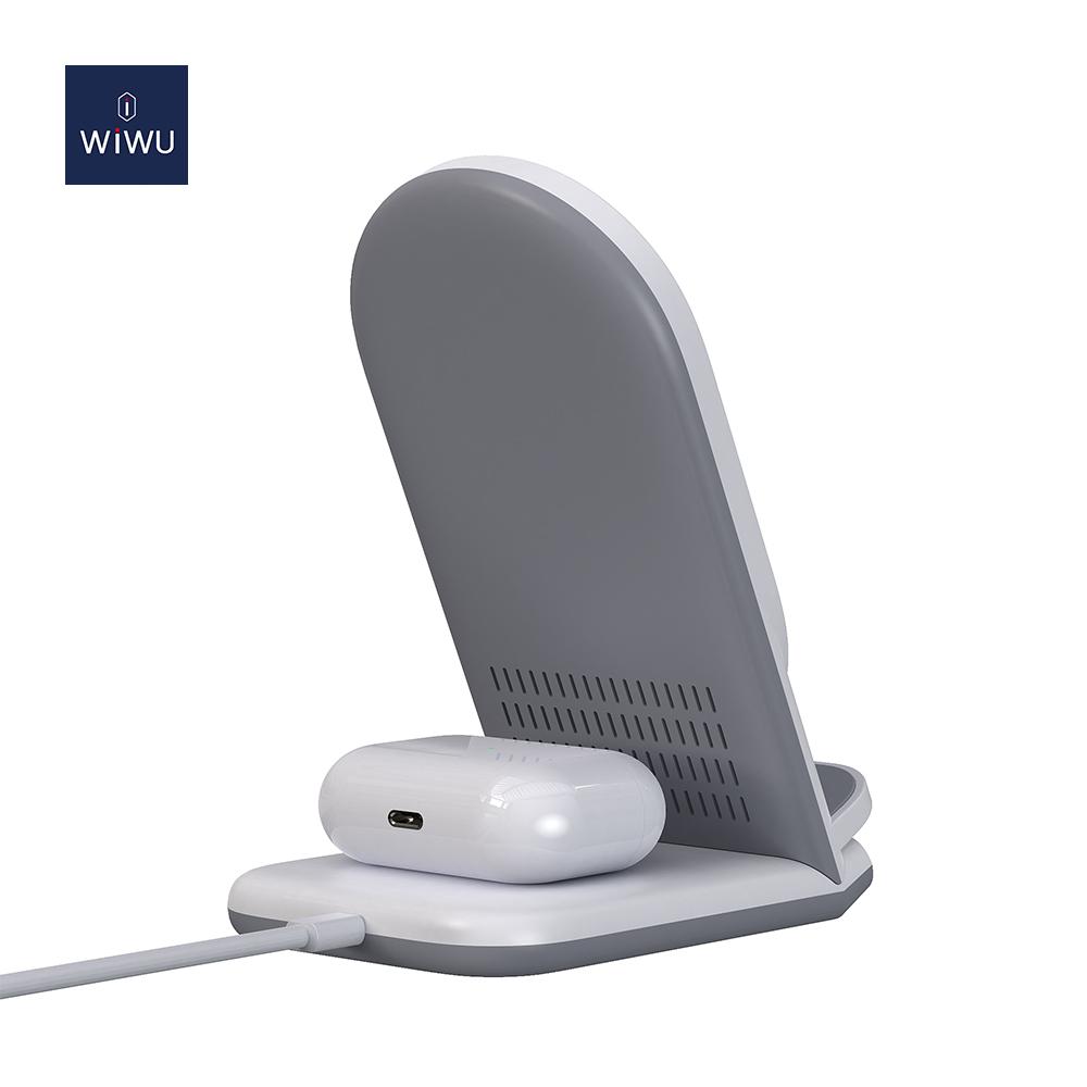 WiWU 二合一 无线充电器 (https://www.wiwu.net.cn/) 无线充电器 第2张