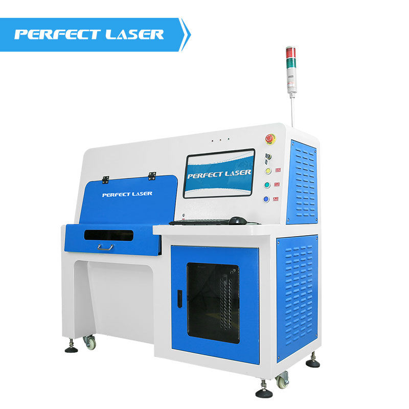 High Precision Solar Panel Silicon Wafer Laser Scribing Solar Cell Cutting Machine With Safety Cabinet