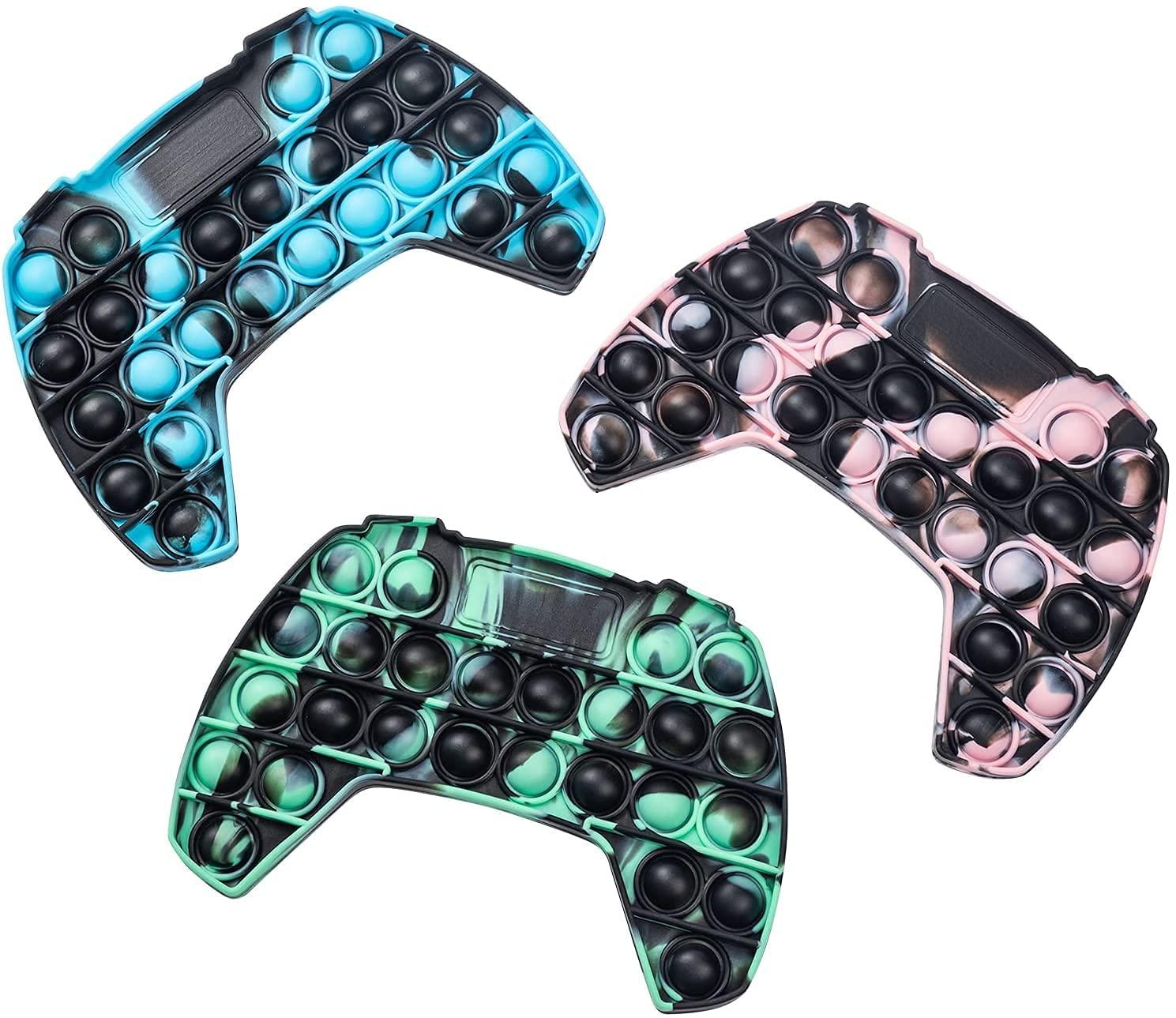 Push Game Controller Gamepad Shape Pop Push tie dye Bubble Sensory Fidget Toys