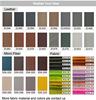 Custom Fabric & Color
