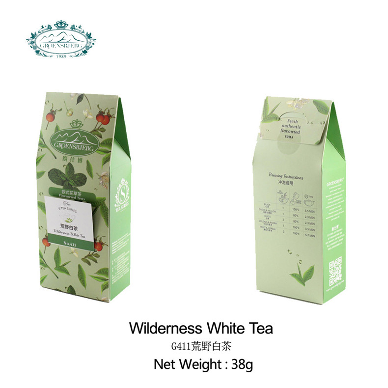 wilderness white tea highly floral pleasant scent a touch sweet entrance aroma best selling fresh authentic flavour - 4uTea | 4uTea.com
