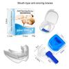 Mouth-type anti-snoring braces