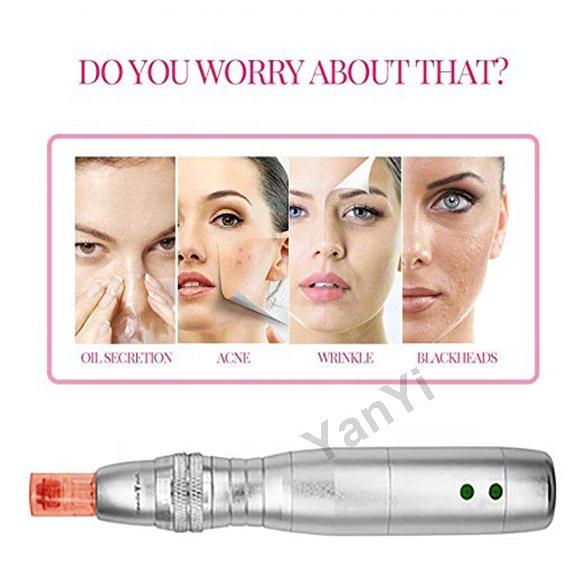 YanYi 7 цветная светодиодная фотонная терапия электрическая dr микроизолирующая ручка