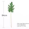 Glued large spring leaf