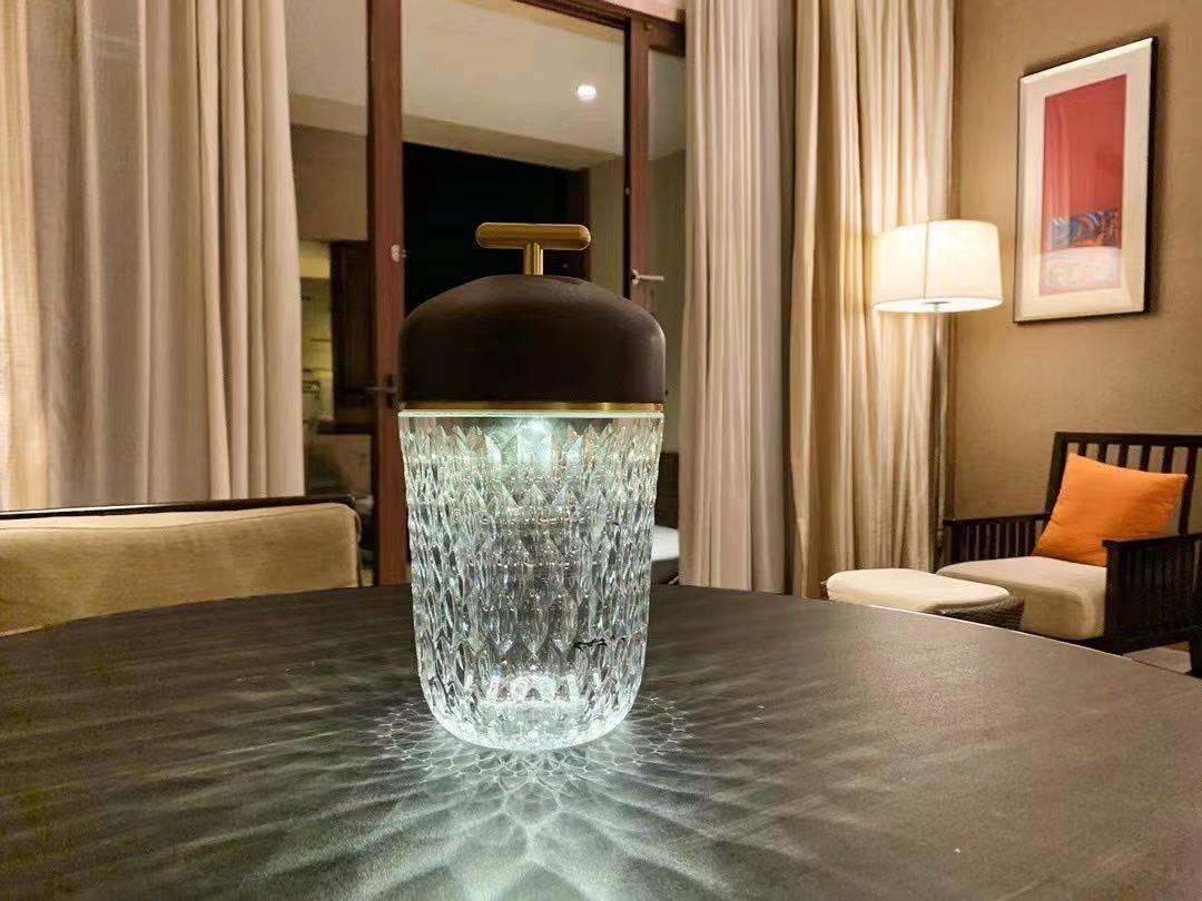 Новая прикроватная светодиодная хрустальная лампа ECOJAS 2021