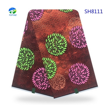 Wholesale fashion 100 % cotton african ankara wax fabric uganda holland wax print fabric