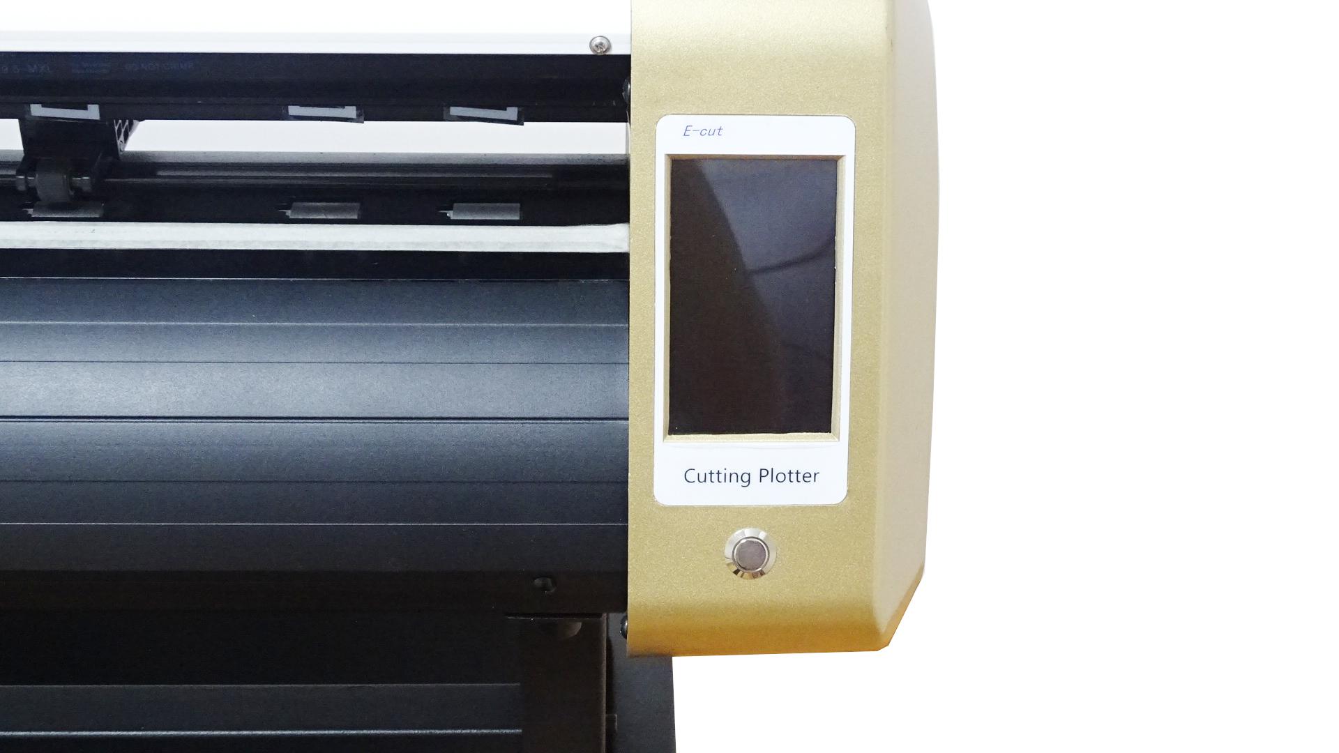 Сенсорный экран автоматический контур с режущим плоттером камеры