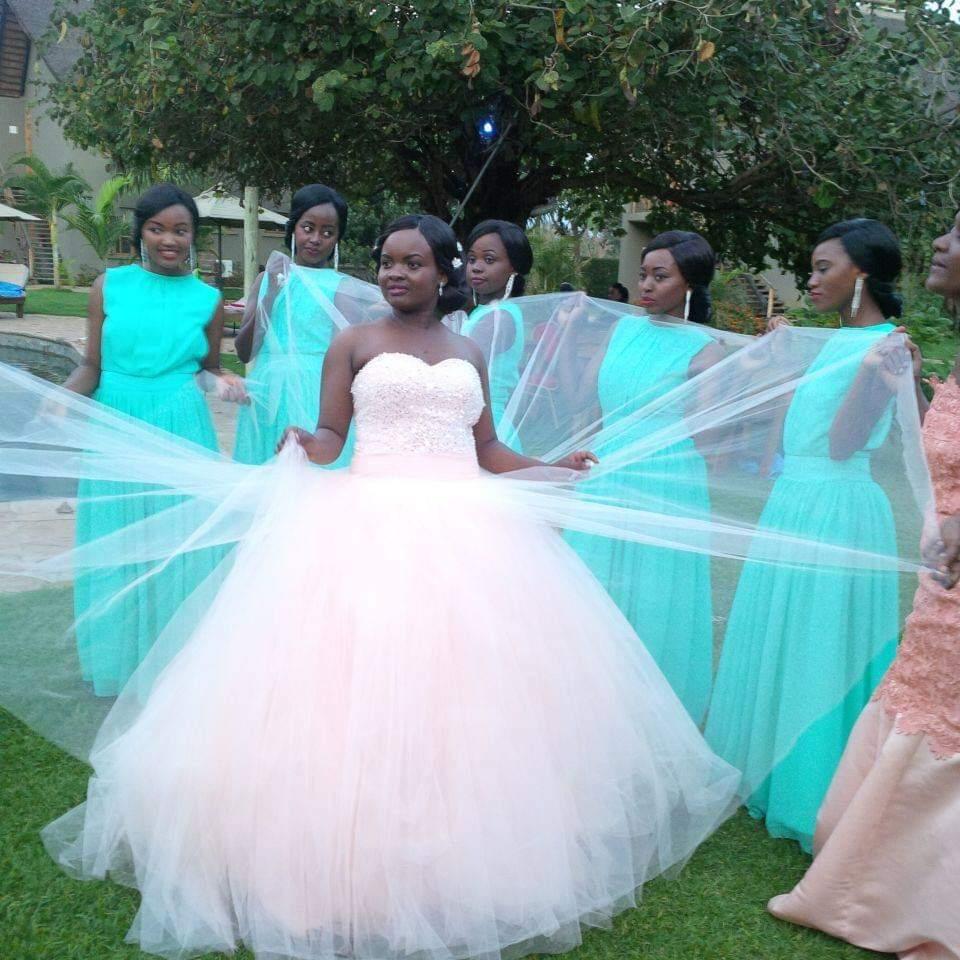 Strapless Robe De Mariage Net Engagement Dress Pink Plus Size ...