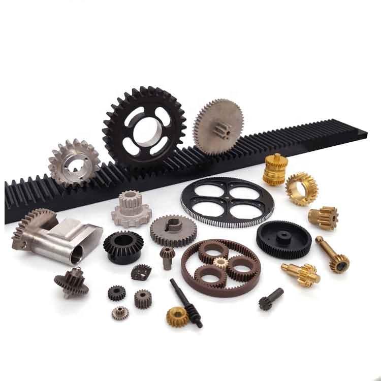 High Precision Nylon Plastic Brass CNC Gear Steering racks pinion
