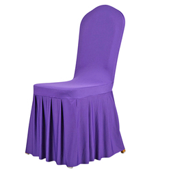 Hot Selling Chair Covers Wedding Decoration Hotel Restaurant Event Party Chair Cover for Folding Chairs