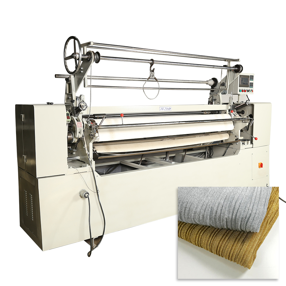 JT-216D High Efficiency Computerized Textile Fabric Pleating Machine