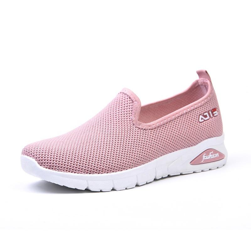 slip on low shallow boats shoes mesh loafers platform shoes women 2020 shoe for women women's flats