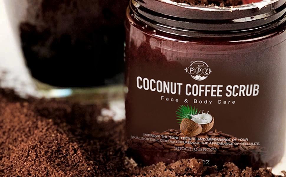 Amazon Hot Sell Drop Shopping Whitening Exfoliating Coffee Body Scrub Private Label OEM Natural Body Scrub Customize Wholesale