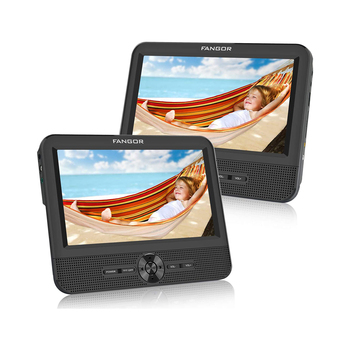 7 inch Portable DVD Player with SD Card/USB Port 5 Hour Rechargeable Battery