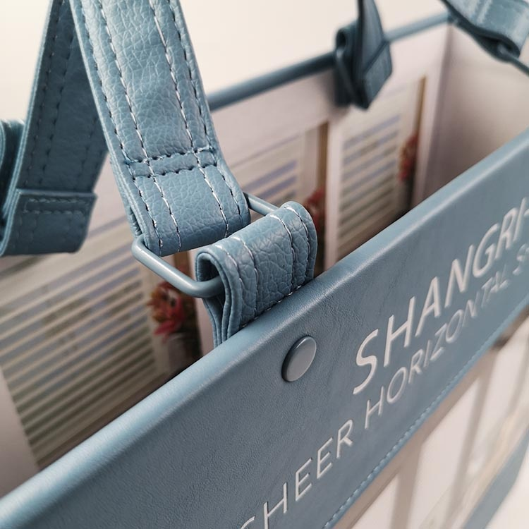 OEM Processing of Materials Hard Cover Custom Fabric Swatch Sample Book Making