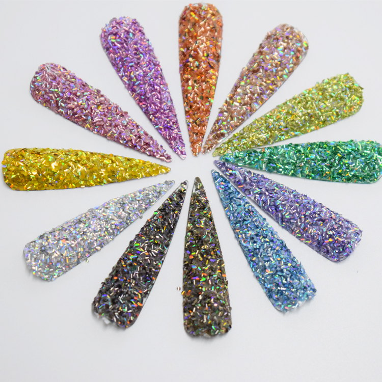 New product fashionable 3D eeffect fish sequins high shinny glitter flake
