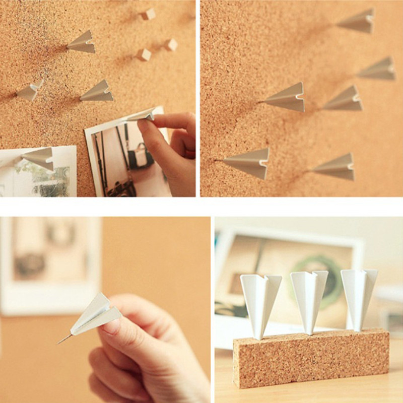 Офисные кнопочные штанги металлические шпильки плоские стены шпильки
